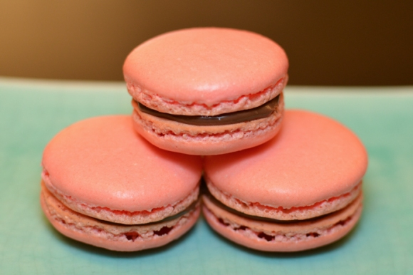 Stack of Macaroons - Kendall Totten Photography